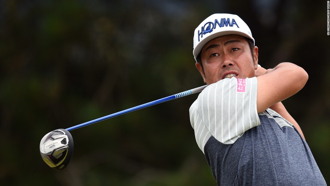 "Japan's Hideto Tanihara watches his drive from the sixth tee during a practice round. The Open is the only major held outside the United States and requires a <a href=""http://edition.cnn.com/2017/07/18/golf/the-open-2017-royal-birkdale-seven-things/index.html"">different skill set to master</a> the humps, hollows and sea breezes of links golf."