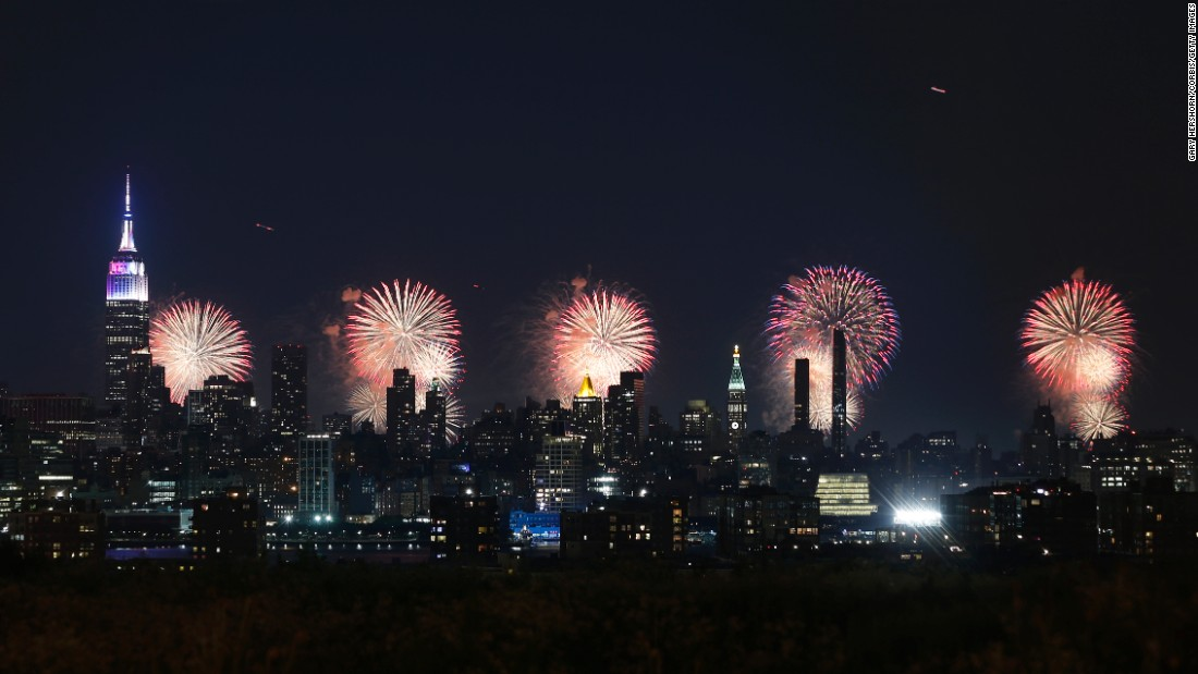<strong>New York City: </strong>New York's Macy's department store got through more than 60,000 fireworks during its 2017 celebrations to mark the United States' Independence Day on July 4.