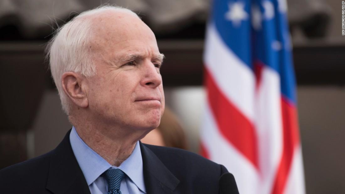 McCain faces his greatest battle