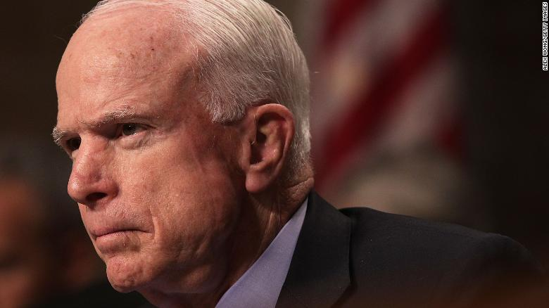 McCain on cancer: 'every life has to end'