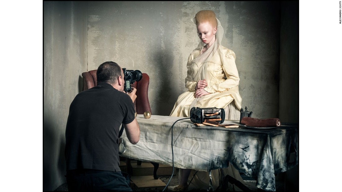 Model and lawyer Thando Hopa as the Princess of Hearts.