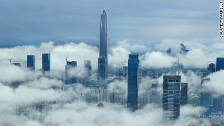 Construction in China's 'skyscraper capital' shows little sign of slowing