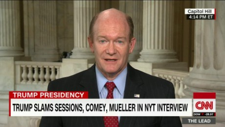 Lead Coons interview Trump: FBI Chief Reports To President Live _00011422.jpg