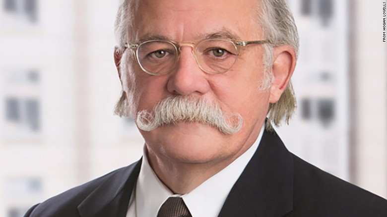 Ty Cobb, the Trump lawyer and flamboyant mustache wearer.