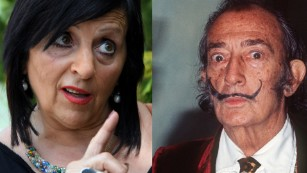 """Maria Pilar Abel claims """"all [she] is missing is the mustache."""""""
