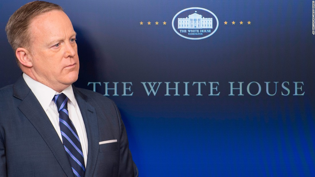 Sean Spicer: 'Of course' I regret inauguration crowd lecture