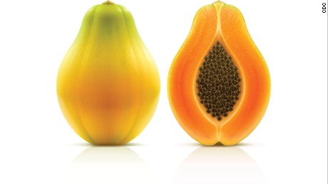 Papayas from Mexico recalled by the FDA after salmonella outbreak