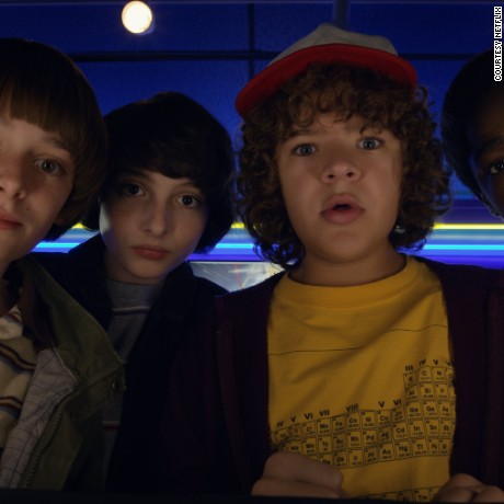 "A scene from ""Stranger Things"" Season 2"