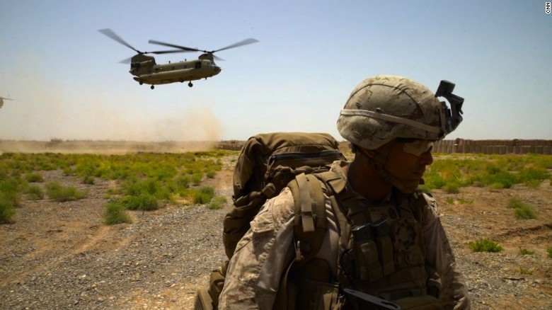 Marines remaining in Afghanistan face hardship