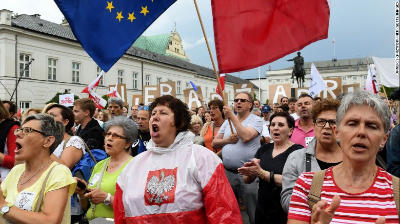 Poland protests worked!