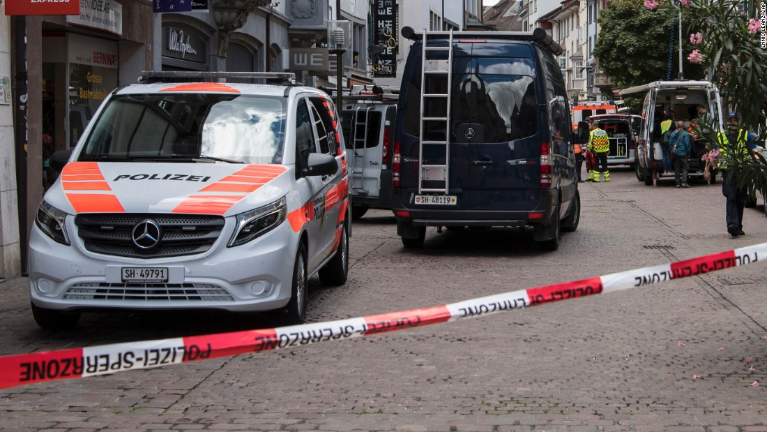Man with chainsaw injures several in Switzerland