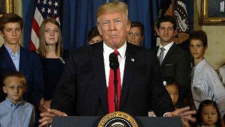 Trump: Senate GOP can end Obamacare nightmare