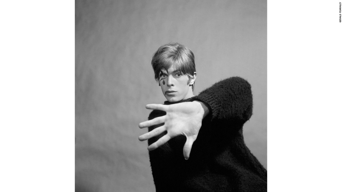 "Marking 50 years since the release of <a href=""http://www.davidbowie.com/"" target=""_blank"">David Bowie</a>'s self-titled debut LP, a new photo book reveals pictures taken for the album's cover."