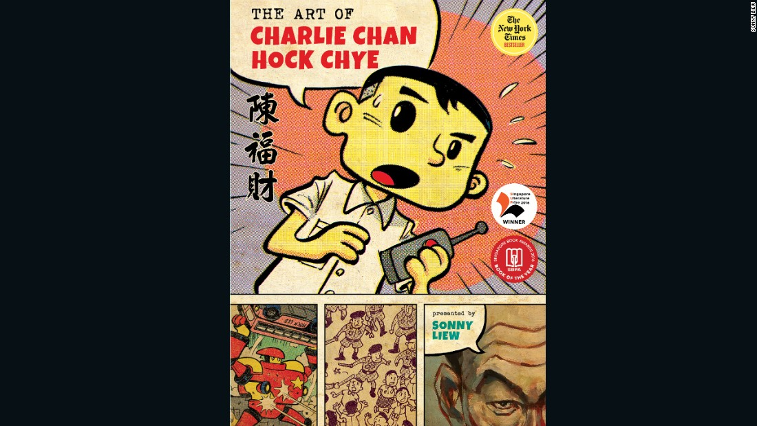 Singapore-based artist Sonny Liew received three Eisner Awards at Comic-Con International in San Diego on Friday.