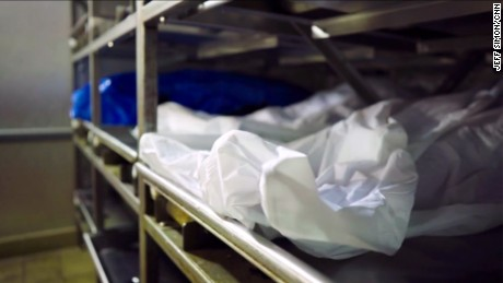 A morgue in Montgomery County, Ohio, fills up nearly every night with bodies from the heroin epidemic.