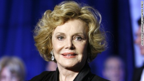 Barbara Sinatra at the National Italian American Foundation's 33rd Anniversary Awards Gala in Washington, Saturday, Oct. 18, 2008.