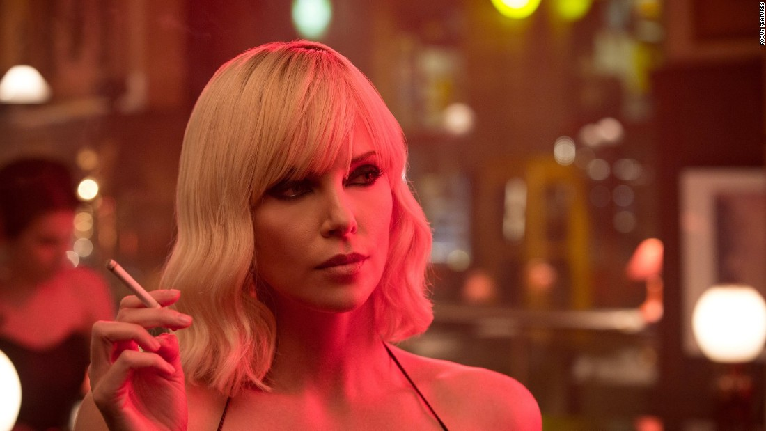 "Charlize Theron is kicking butt and looking fabulous while doing it as an undercover MI6 agent in ""Atomic Blonde."" She's strong, she's smart and she's beyond fierce in the role."