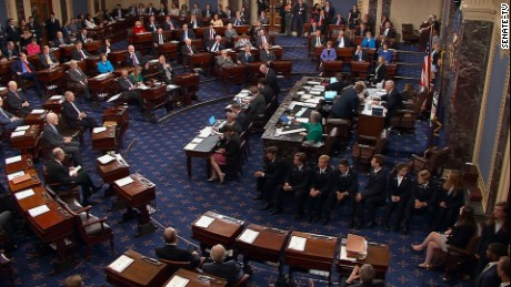 Vote tally: How each senator voted on GOP health care motion