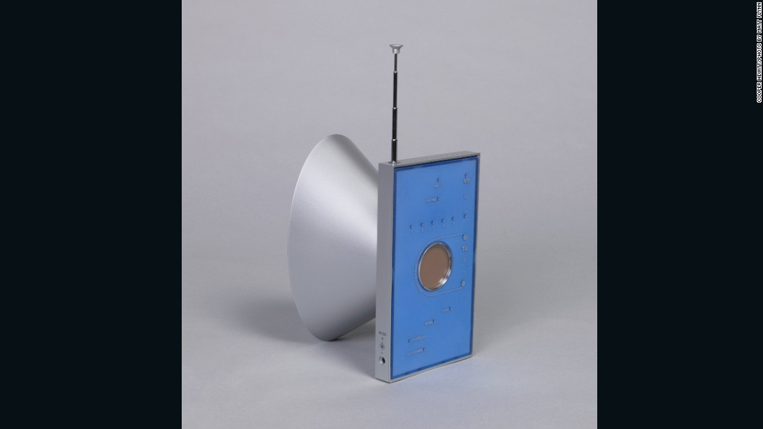 "When French designer Matali Crasset took on the radio she said she wanted to ""make the pleasure of sound visible,"" as evidenced in this strange contraption from the mid 1990s."