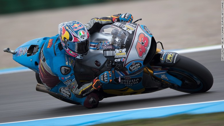 Australian rider Jack Miller is competing for the Honda team in the 2017 Suzuka 8 Hours race