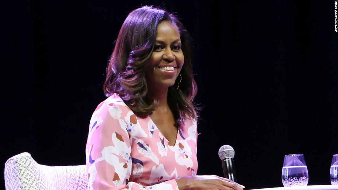 Michelle Obama rises above racist jabs