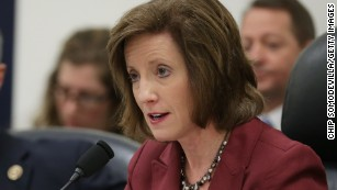 The House Armed Services Committee's Oversight and Investigations Subcommittee Chairwoman Vicky Hartzler on Capitol Hill in February 2015.