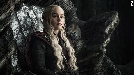Daenerys on 'Game of Thrones'