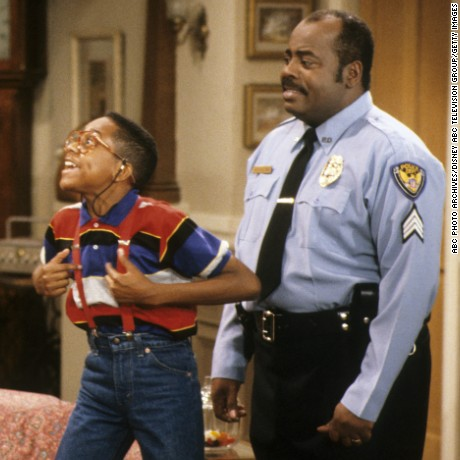 "A scene from a 1990 episode of ""Family Matters."""