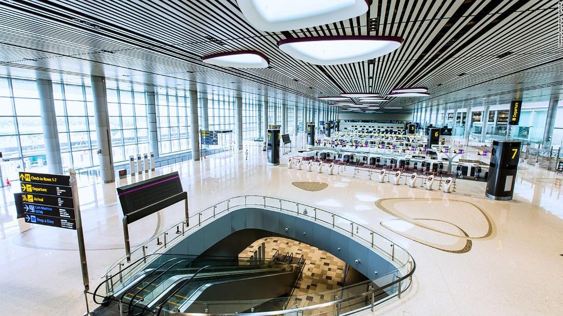 Inside The Groundbreaking New Terminal Of Singapore Changi Airport