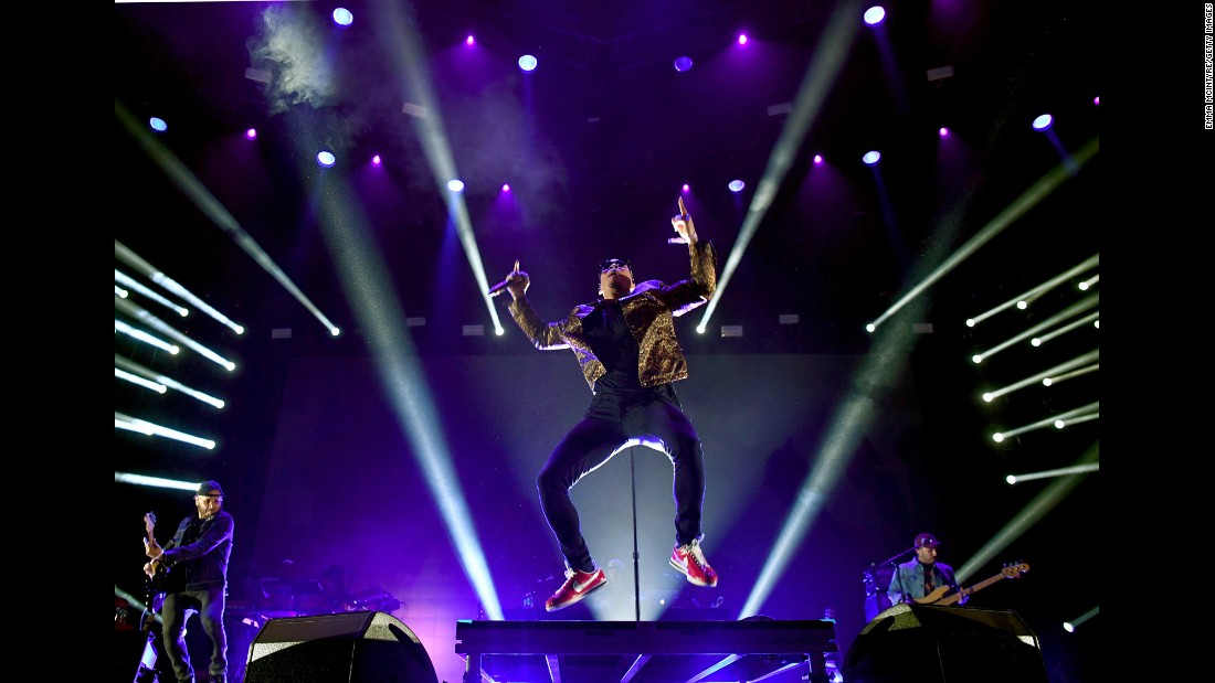 Anderson Paak and The Free Nationals perform at the FYF Fest in Los Angeles on Friday, July 21.