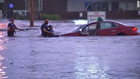 Thumbnail for kansas city flooding original video