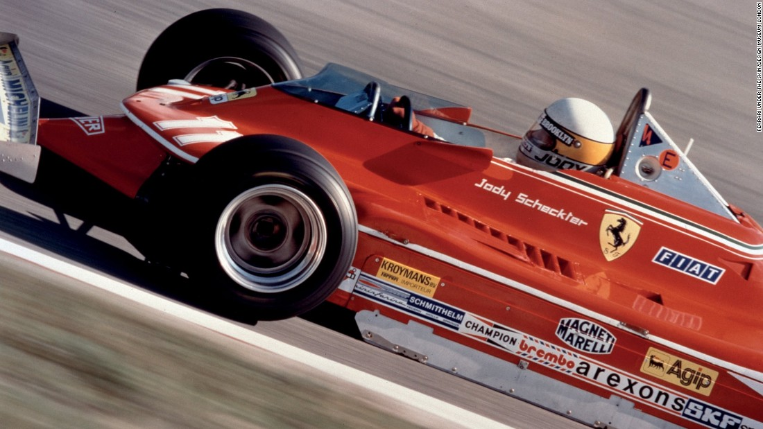 By the 1970s, Ferrari's F1 cars were capable of over 500bhp. South African driver Jody Scheckter, pictured, won the 1979 World Championship.