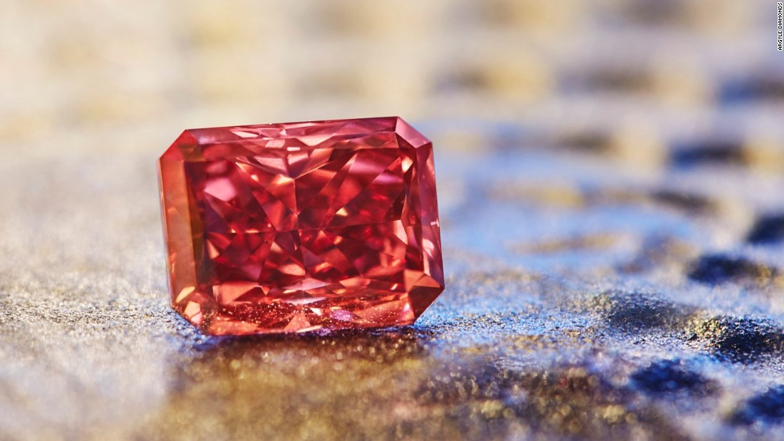 Rare Fancy Red diamond could sell for millions