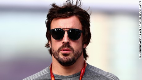 "Alonso tested the Halo at last year's Singapore Grand Prix and says he is ""happy with a halo or no halo."""