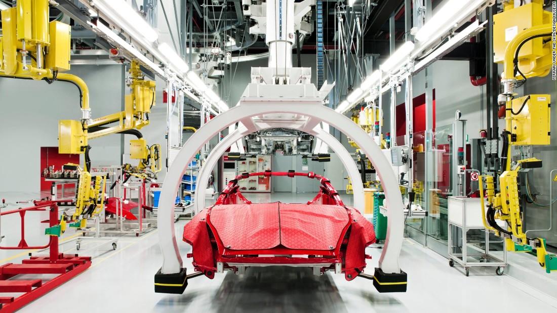 Ferrari 法拉利70年的演变 - wuwei1101 - 西花社