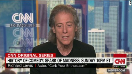 richard lewis cnn brooke baldwin history of comedy newsroom _00004407
