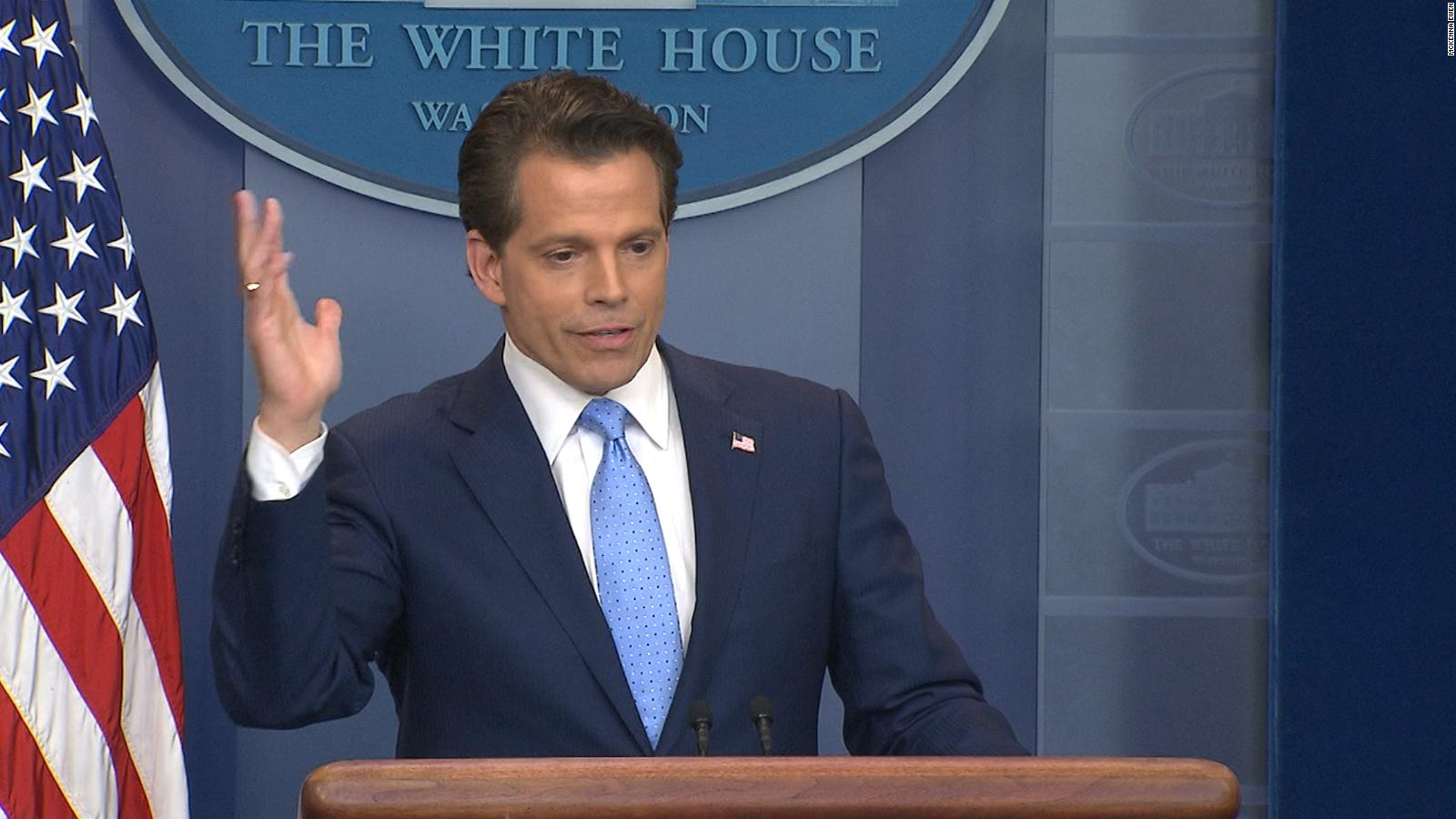 anthony scaramucci out as wh communications director - cnnpolitics