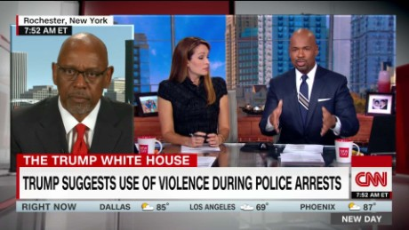Police chiefs association refutes Trump's speech that endorsed officer brutality