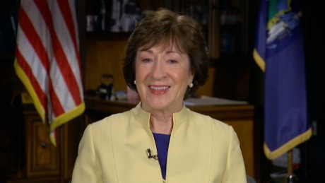 Jake Tapper interviews Maine Sen. Susan Collins.