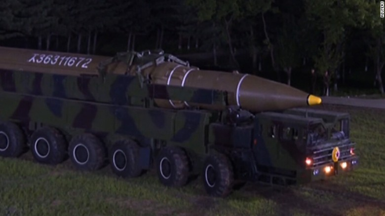 USA tests ICBM amid latest North Korea provocation