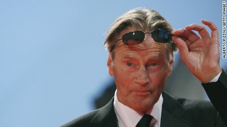 "Sam Shepard adjusts his sunglasses as he arrives for the screening of the movie ""The Assasination of Jessie James by the coward Robert Ford"" during the 64th Venice International Film Festival in September 2007."