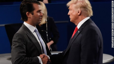 WH admits Trump 'weighed in' on Don Jr. statement