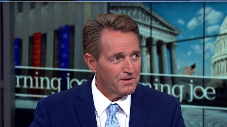 Sen. Flake: GOP should have stood up to Trump