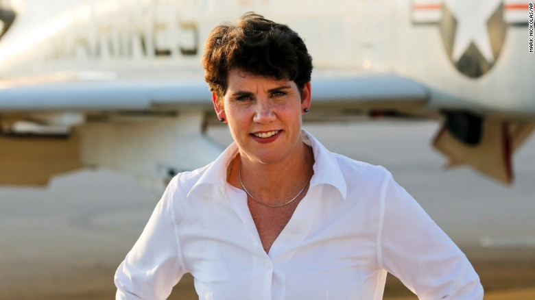 Image result for Lt. Col. Amy McGrath