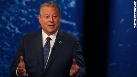Gore: 'Time to act' on climate change