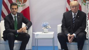Call transcript: Trump urged Mexican president to stop criticizing wall