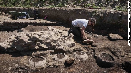 Archaeologists have been working on the site in southeastern France since September.