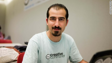 Syrian open internet activist Bassel Khartabil, also known as Bassel Safadi.