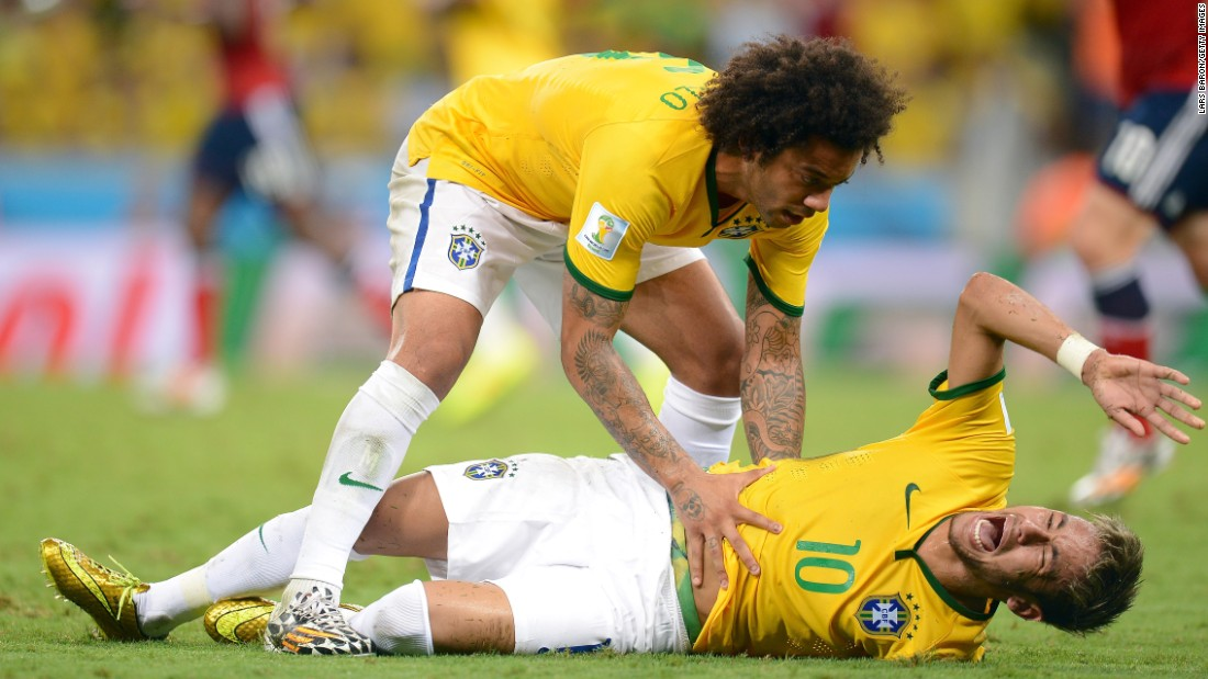 Brazil was the host of the 2014 World Cup, but the tournament ended painfully for Neymar. He suffered a fractured vertebra in the quarterfinal victory against Colombia, and the Brazilians were trounced by Germany in the semifinals.
