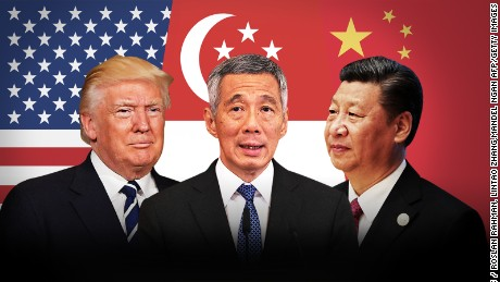 The eagle, the lion and the dragon: Singapore's future in the age of Trump